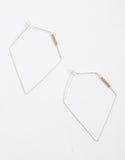 Wired Diamond Earrings