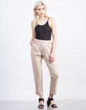 Front View of Woven Trouser Pants