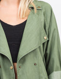 Detail of Woven Utility Jacket
