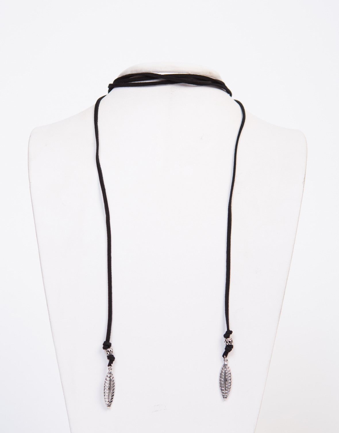Wrap Around Leafy Necklace