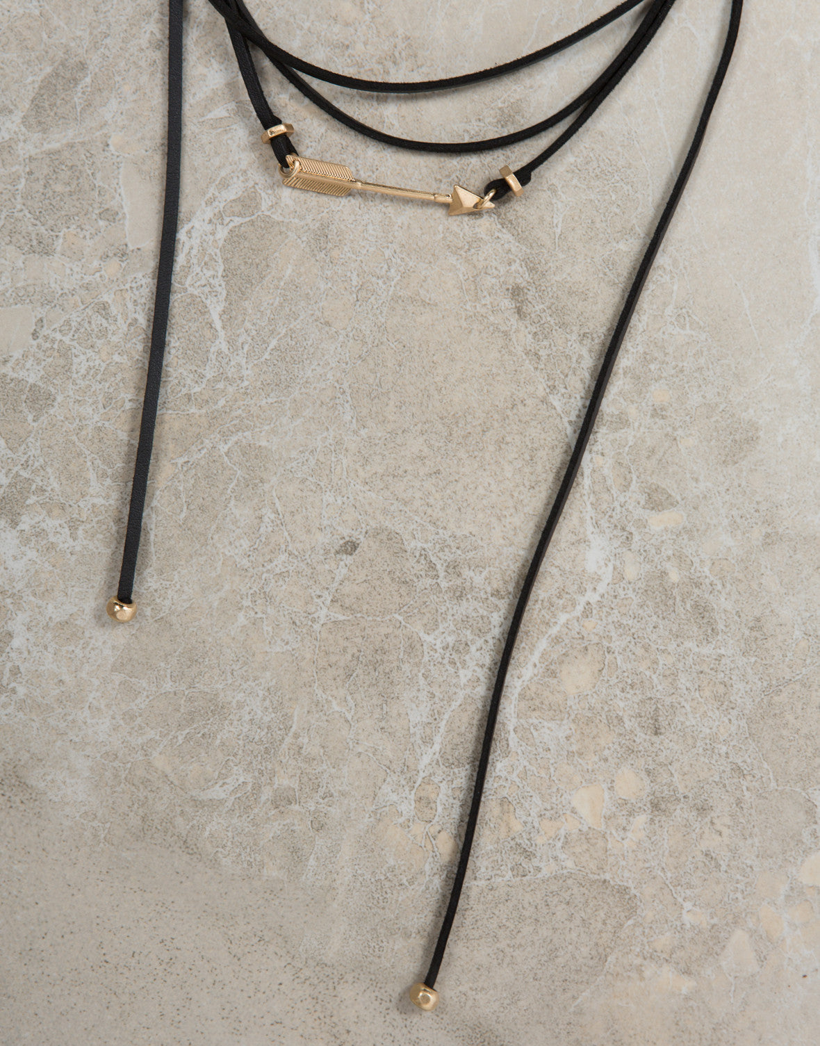 Wrap Around Arrow Necklace