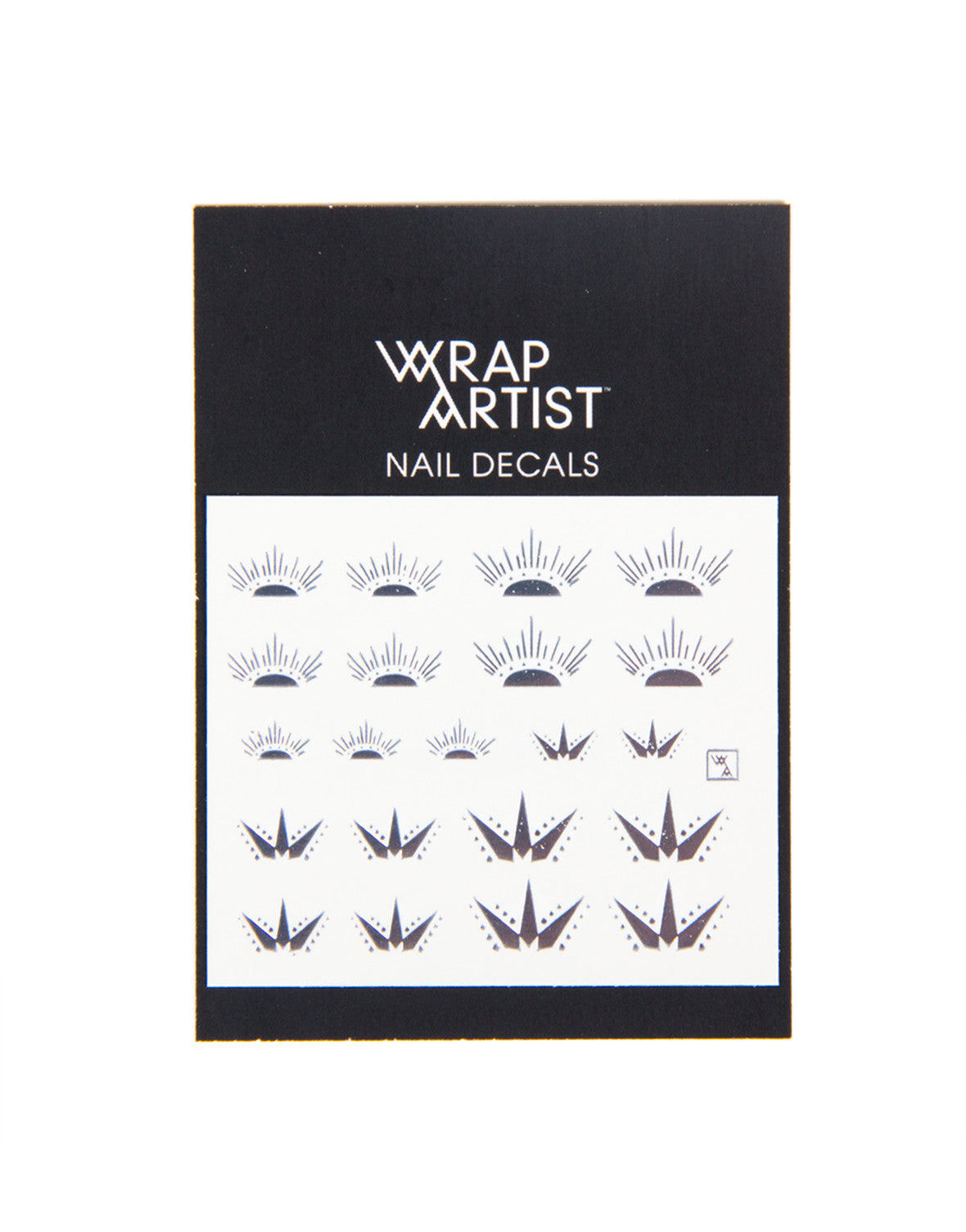 Wrap Artist Nail Decals - Aztec Moon