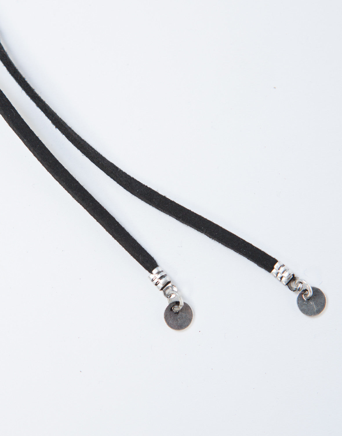 Wrapped Concho Choker Necklace
