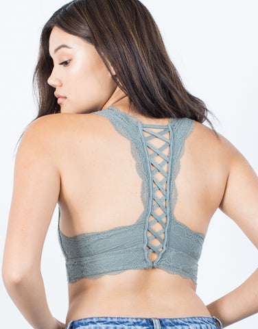 X-Back Lacey Bralette