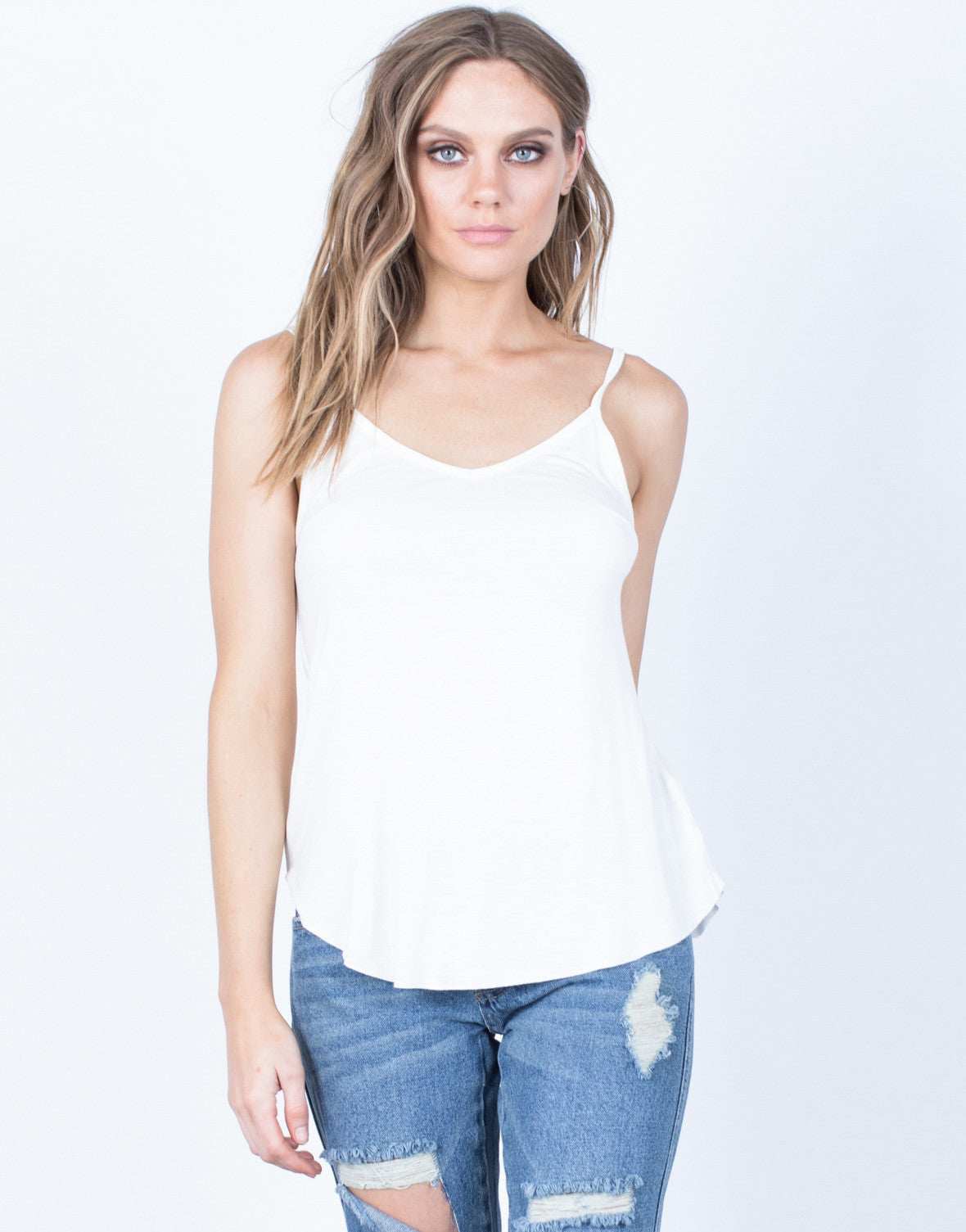 Front View of Your Essential Cami Tank