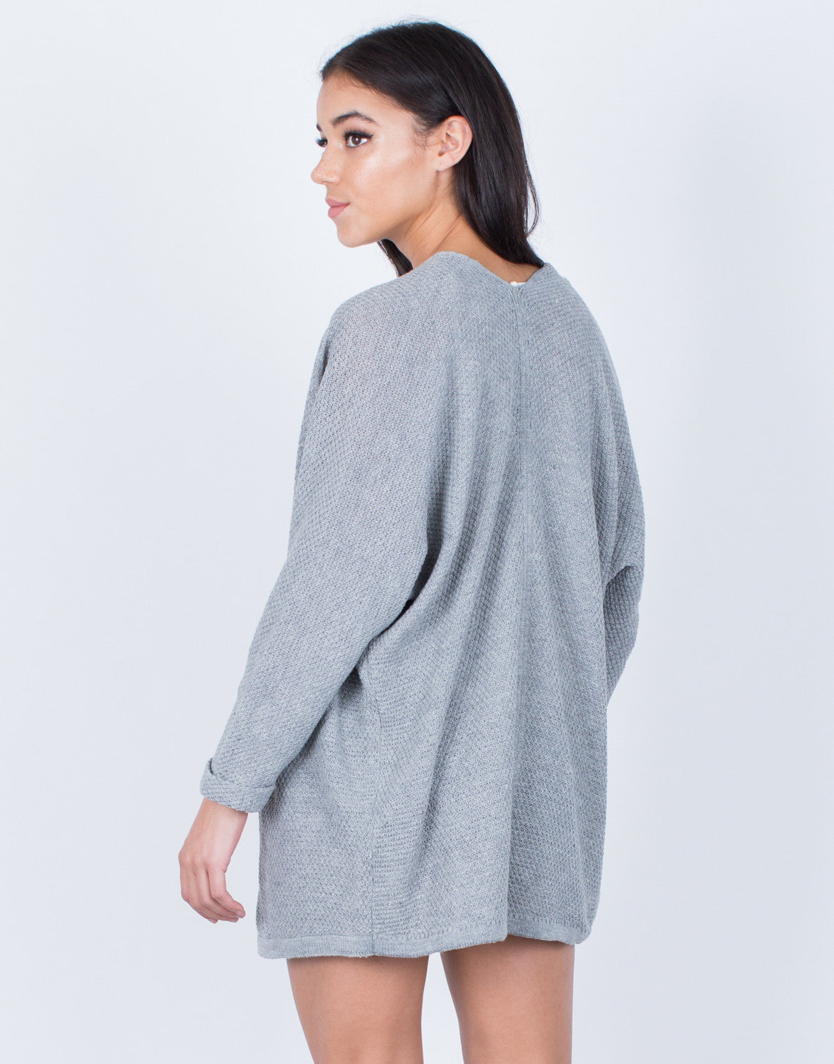 Back View of Your Everyday Cardigan