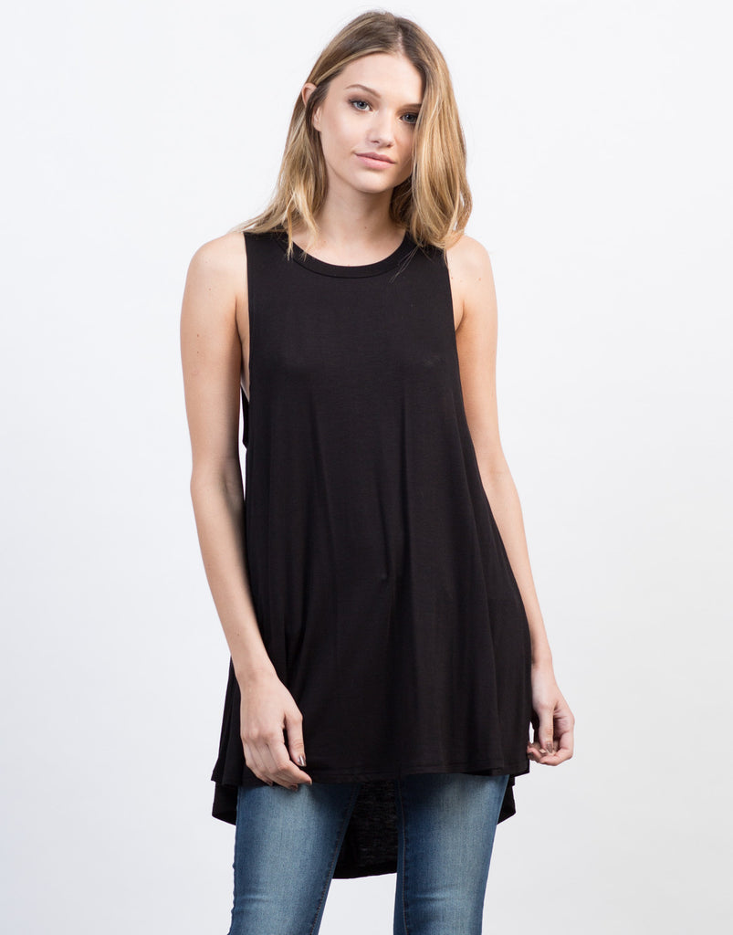 Front View of Your Everyday Tunic Top