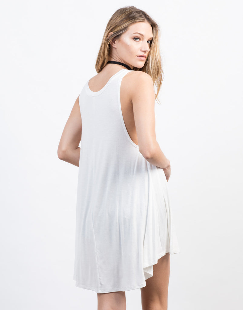 Back View of Your Everyday Tunic Top
