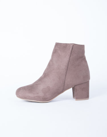 Your Go-To Suede Booties