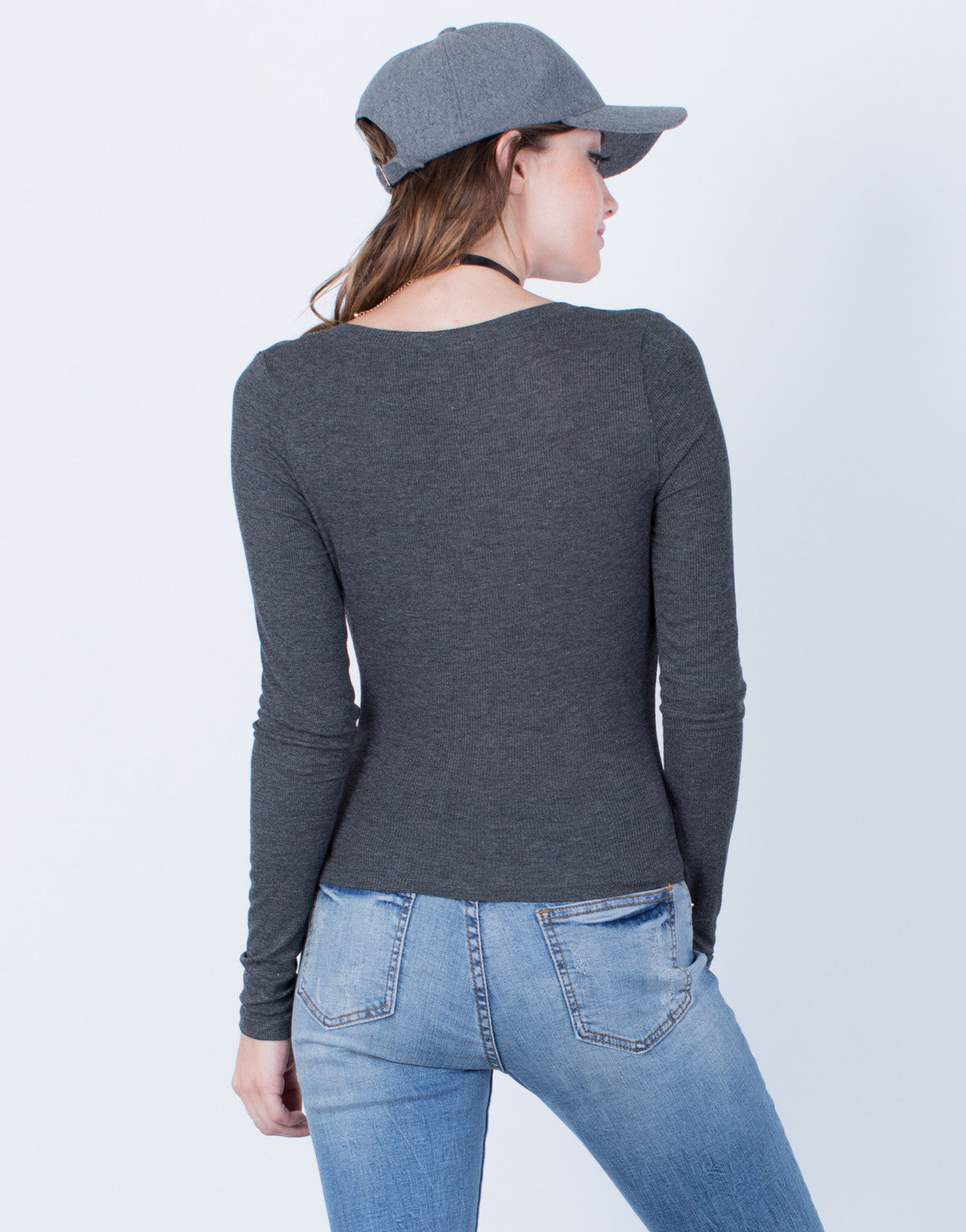 Back View of Your Go-To Top