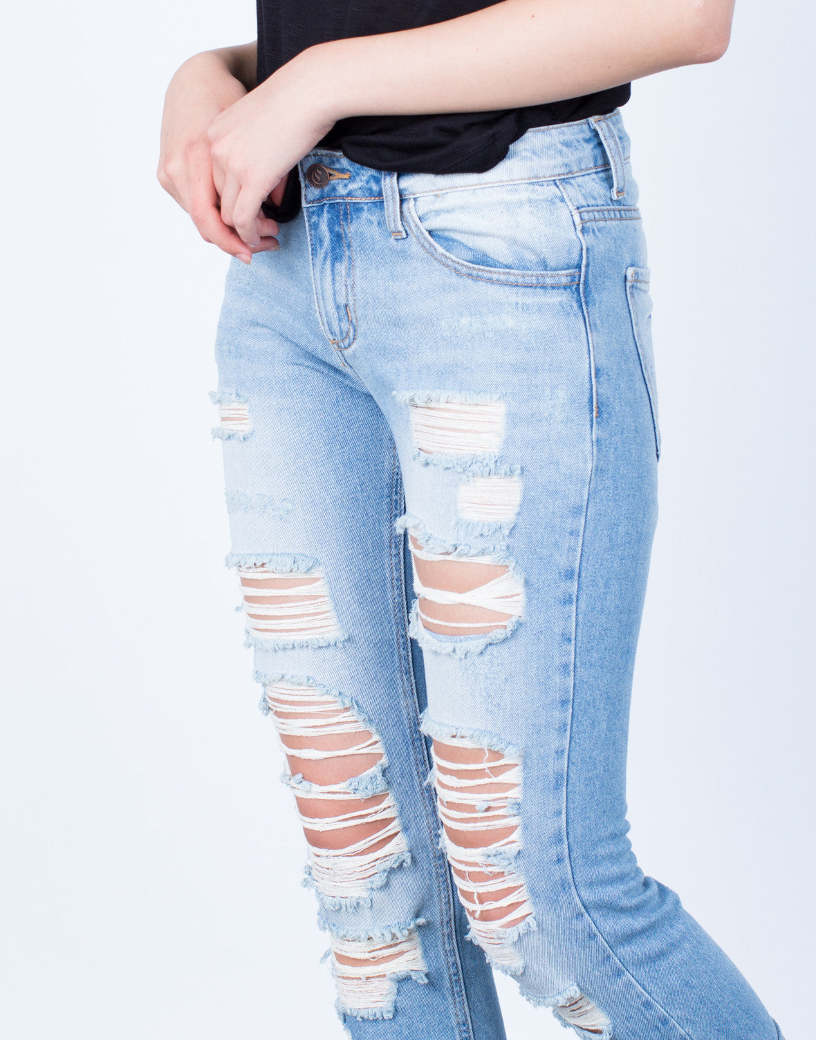 Detail of Your Next Boyfriend Jeans