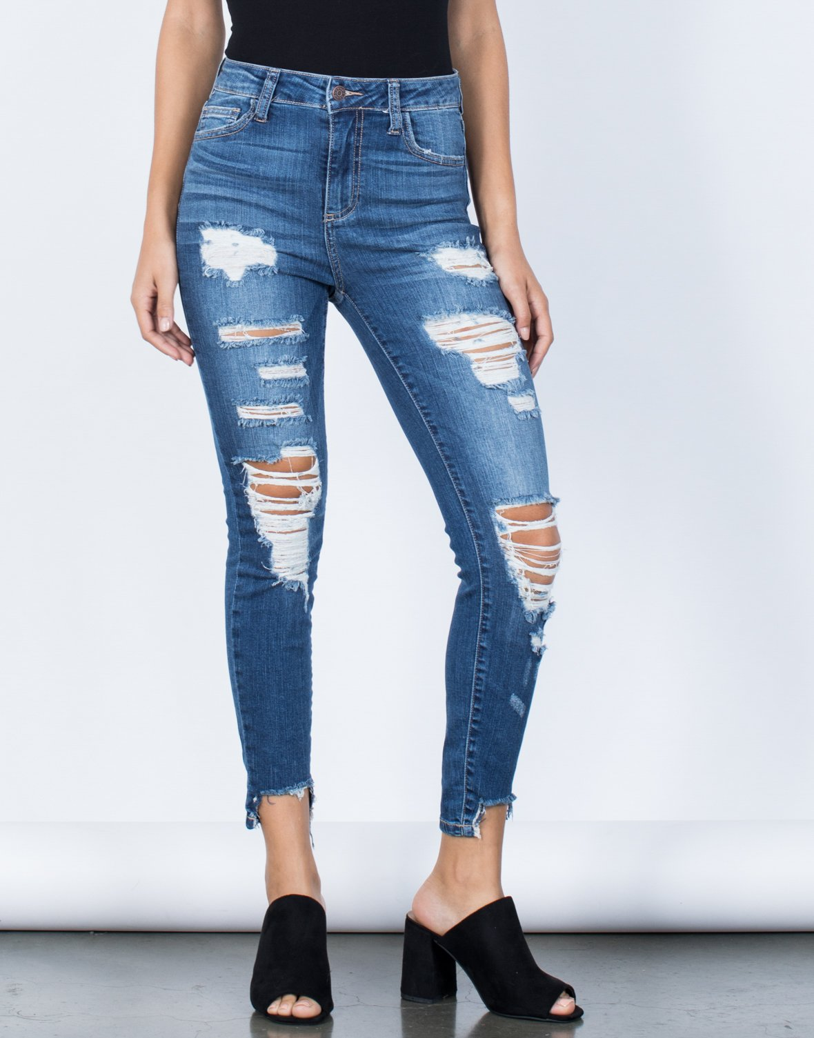 Your Next Destroyed Jeans