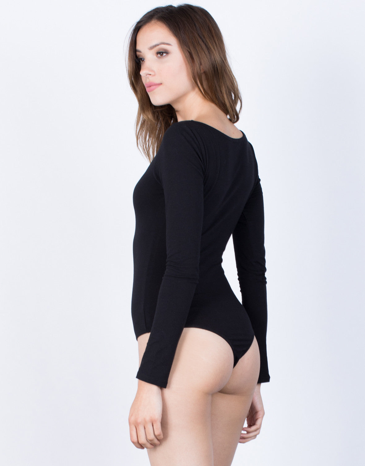 Back View of Your Simple Bodysuit