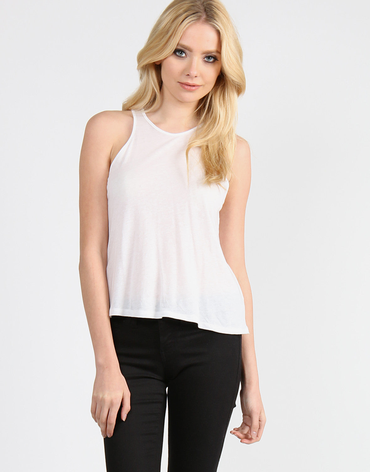 Your Basic Tank - White - 2020AVE