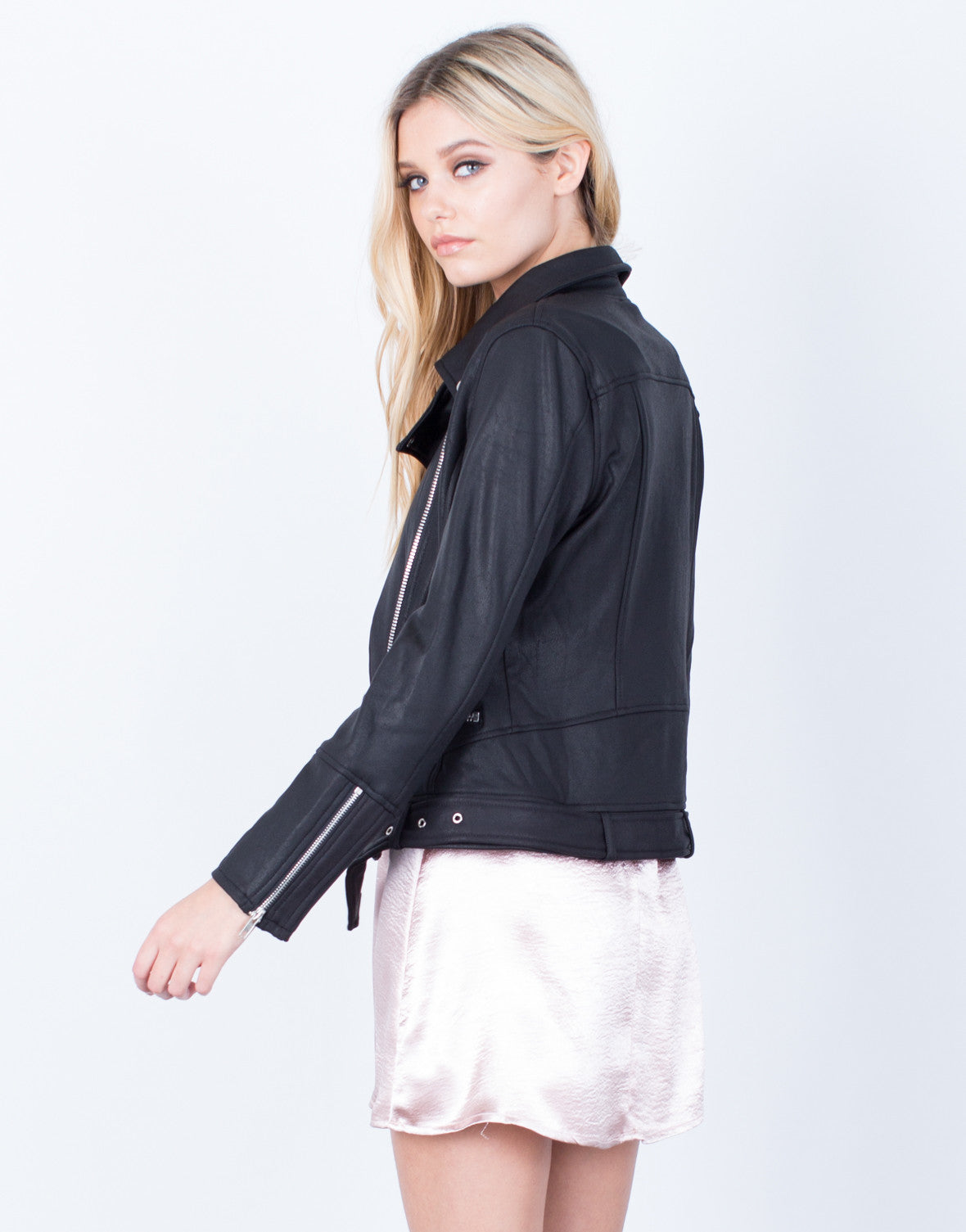 Back View of Zip Me Up Jacket