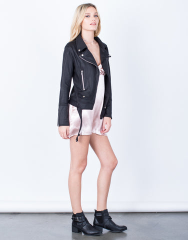 Side View of Zip Me Up Jacket