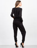 Back View of Zip Up Jumpsuit