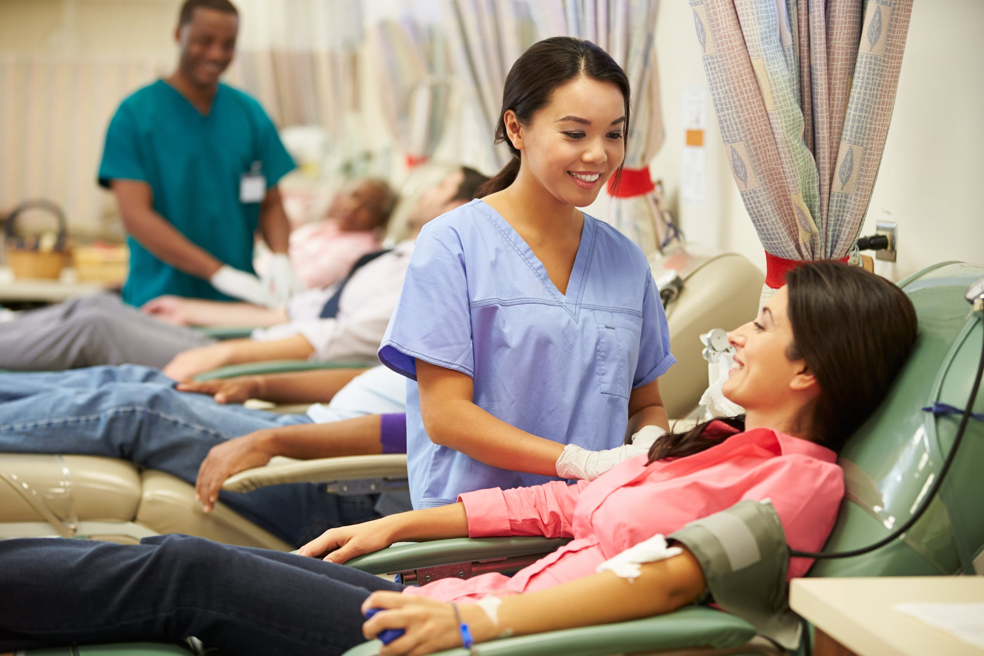 Club Fearless Test #82 Donate blood
