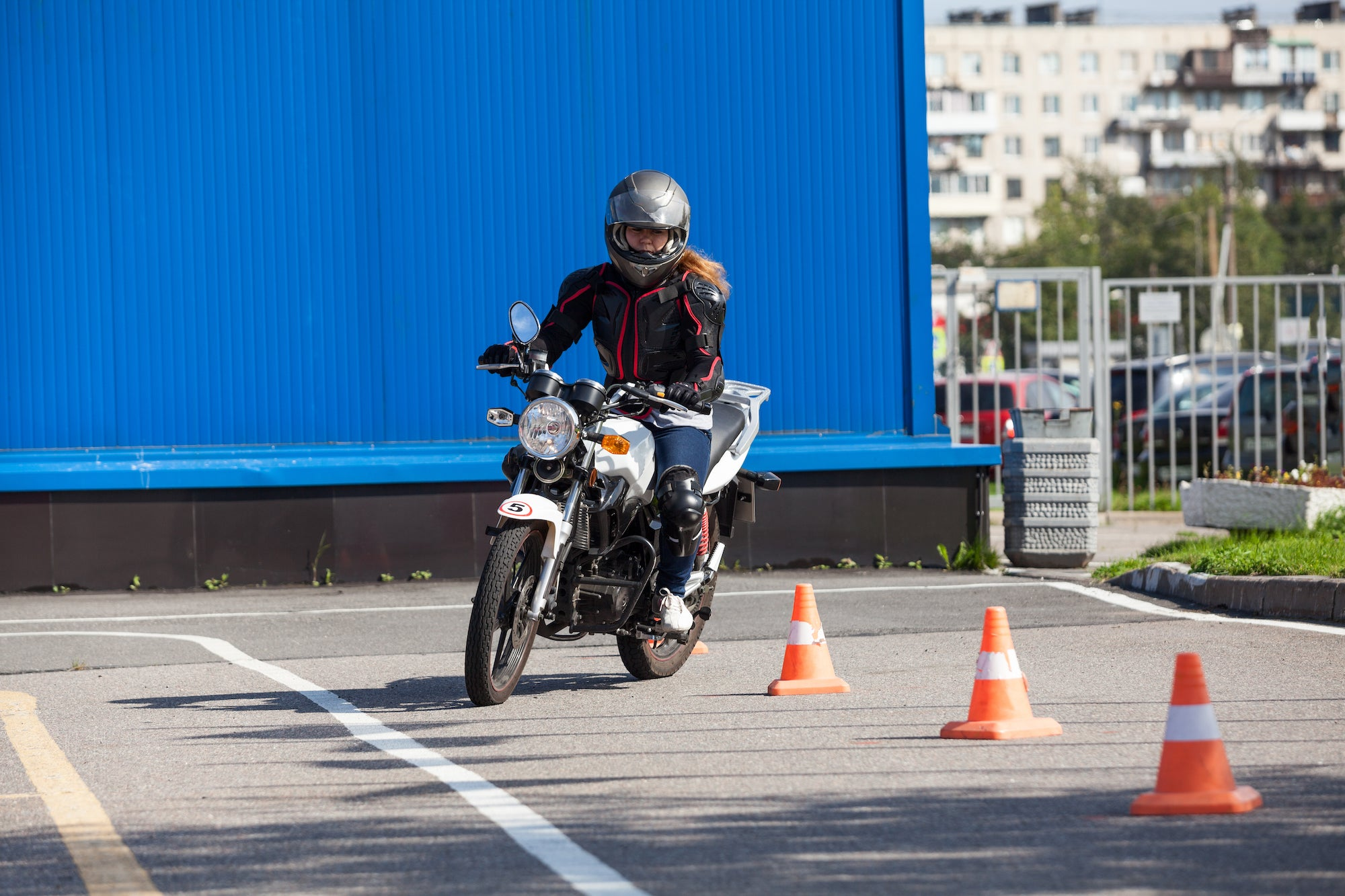 Club Fearless Test #126 Learn to ride a motorcycle and get your license