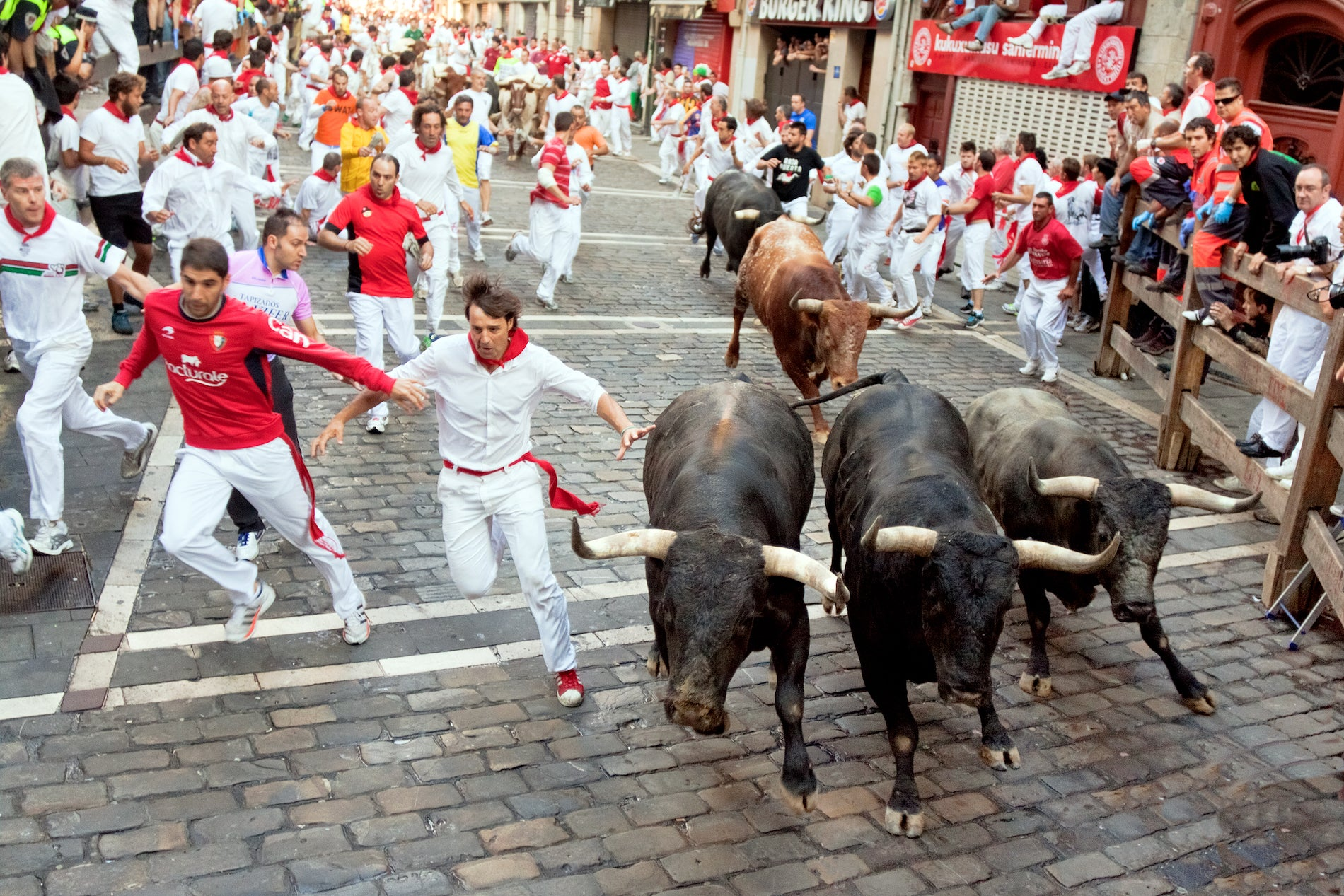 Club Fearless Test #54 Run with the Bulls in Pamplona