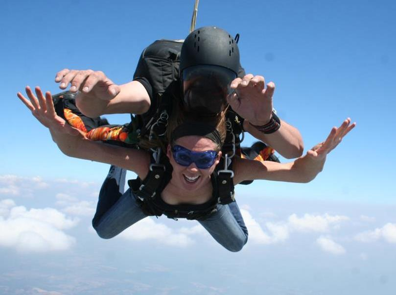 Club Fearless Test #1 Skydive Tandem from 12,000 Feet or Higher