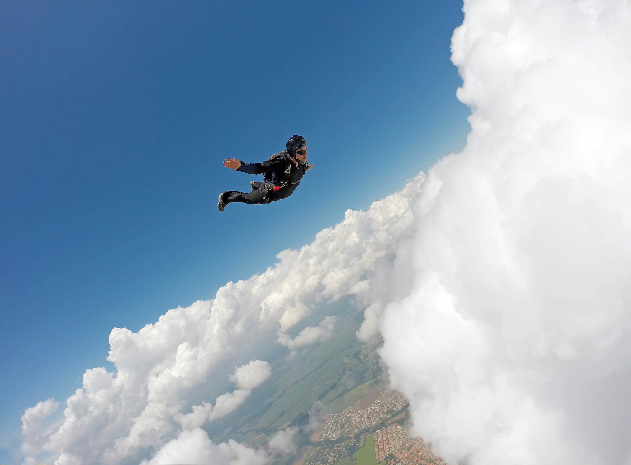 Club Fearless Test #2 Skydive Solo from 12,000 Feet or Higher
