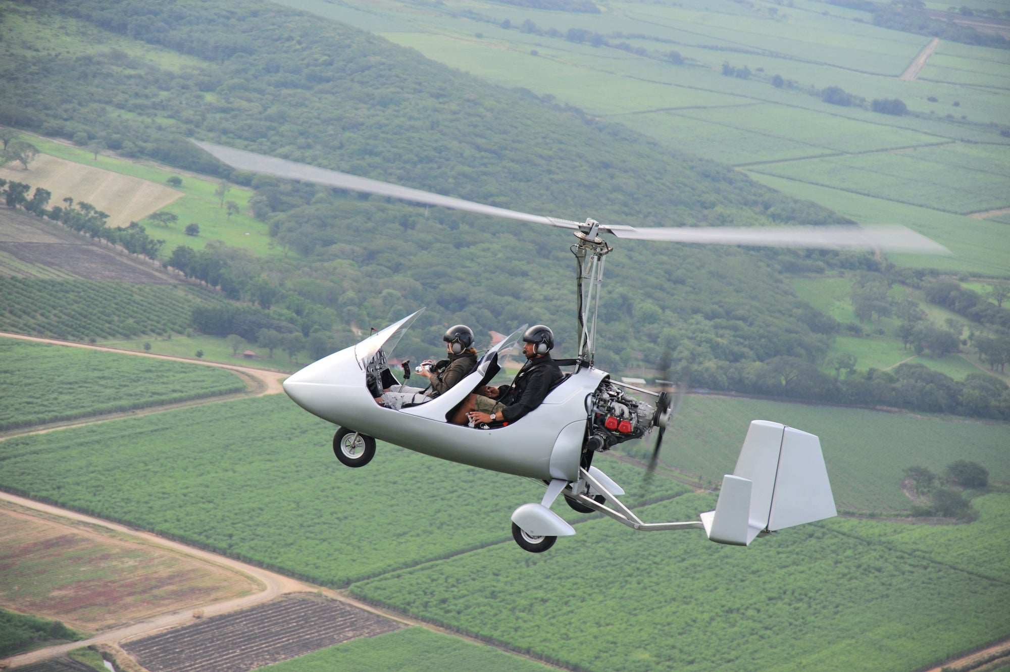 Club Fearless Test #27 Ride in an ultralight aircraft