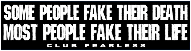 Fake Their Life Bumper Sticker