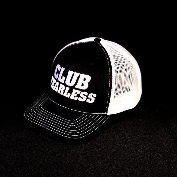 Club Fearless Trucker Hat - Black/White