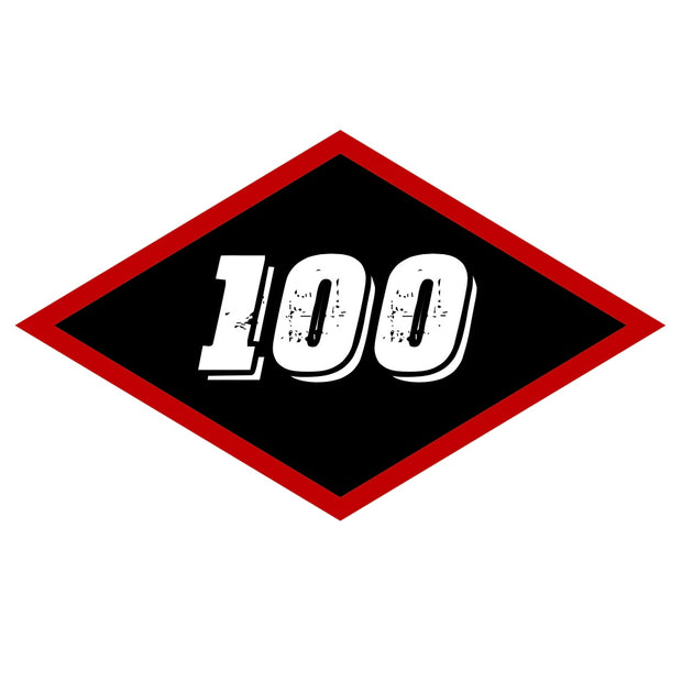 Sticker - Large Black Diamond 100