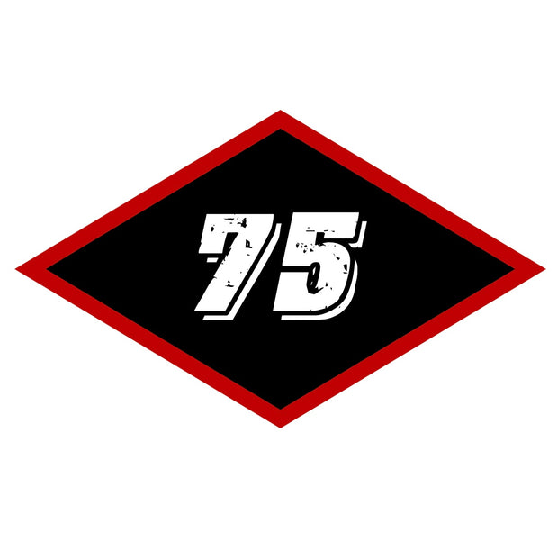 Sticker - Medium Black Diamond 75