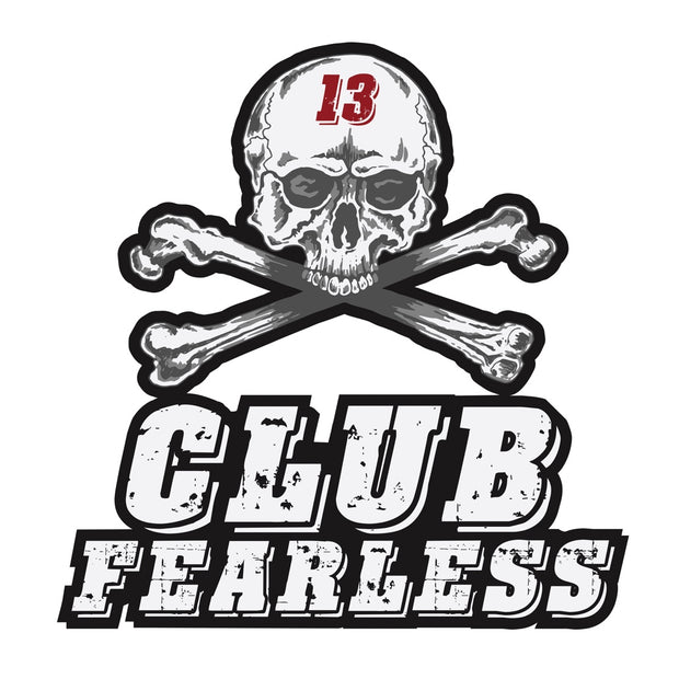 Sticker - Large Club Fearless Diecut