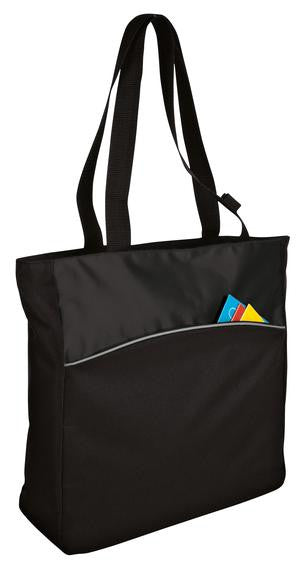 Two-Tone Colorblock Tote - Personalized for you