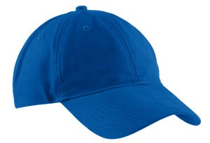 WMTD - CP77 - Port & Company® - Brushed Twill Low Profile Cap