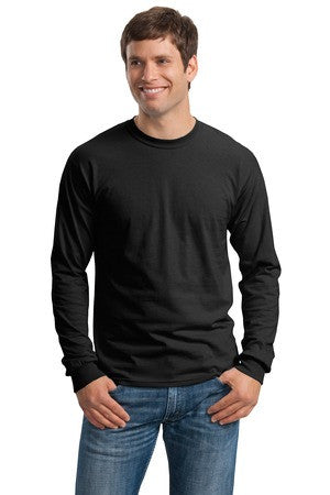 Step 1 - Gildan® - Ultra Cotton® 100% Cotton Long Sleeve T-Shirt