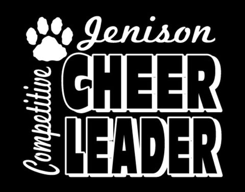 Step 2 - Jenison Competitive Cheer Design 1