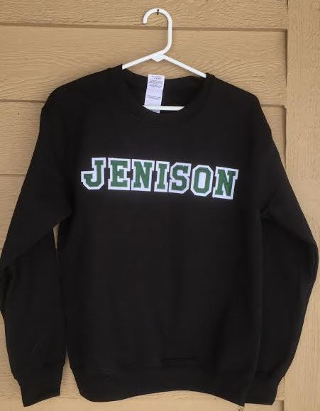 Jenison 2 Color Applique Sweatshirt