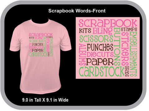 Scrapbook Words - Unisex Fit