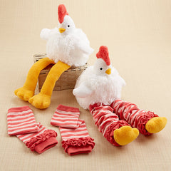 Chicken Leg Warmers Baby Gift Set