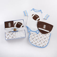 Three Piece Football Gift Set for Baby