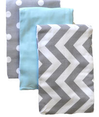 Adorable Chevron Baby Burp Cloths
