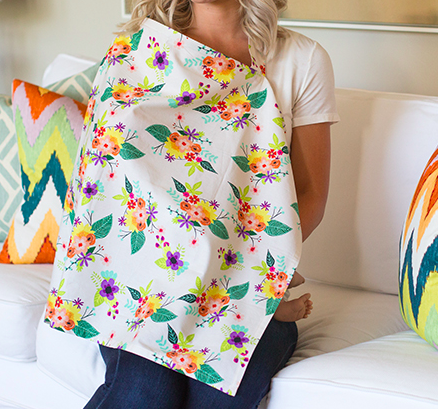 Charlotte Nursing Cover