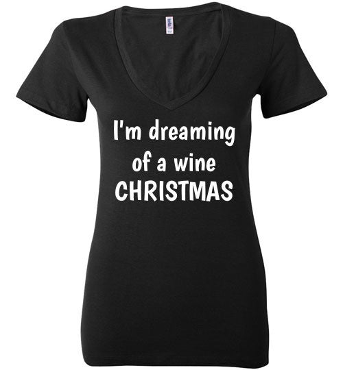 Wine Christmas Top