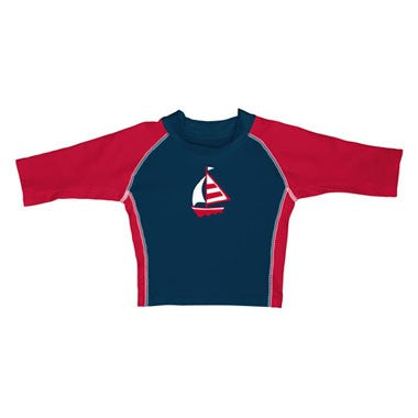 i play.® Mod Three-Quarter Sleeve Sailboat Rashguard