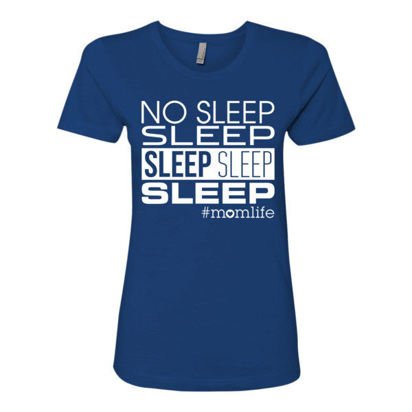 No Sleep Sleep Sleep Sleep Sleep Top - White