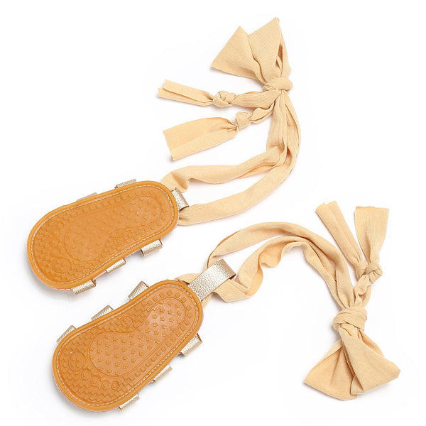 Leather Bandage Summer Sandals