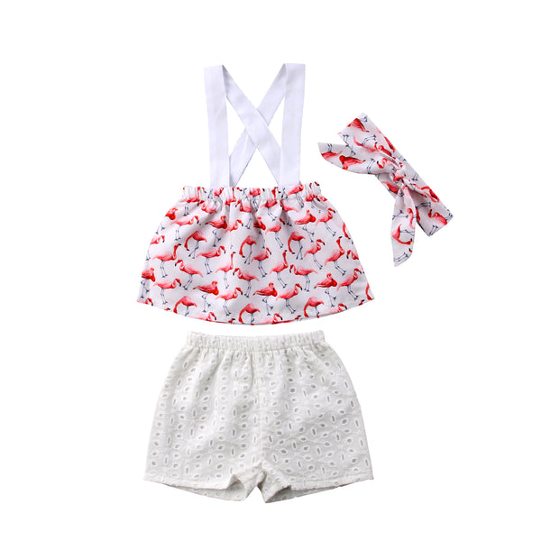 Flamingo 3-Piece Set