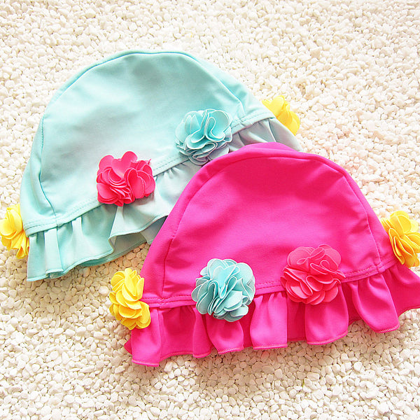 Cute Flower Swimming Cap