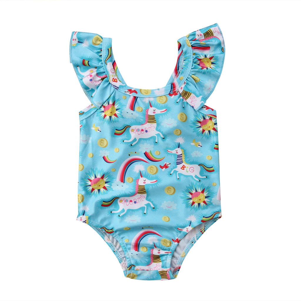 Adorable Unicorn Swimsuit