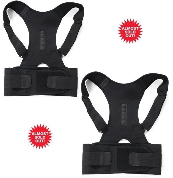 ORTHO BRACE SUPPORT (BLACK-L 2 ITEMS)